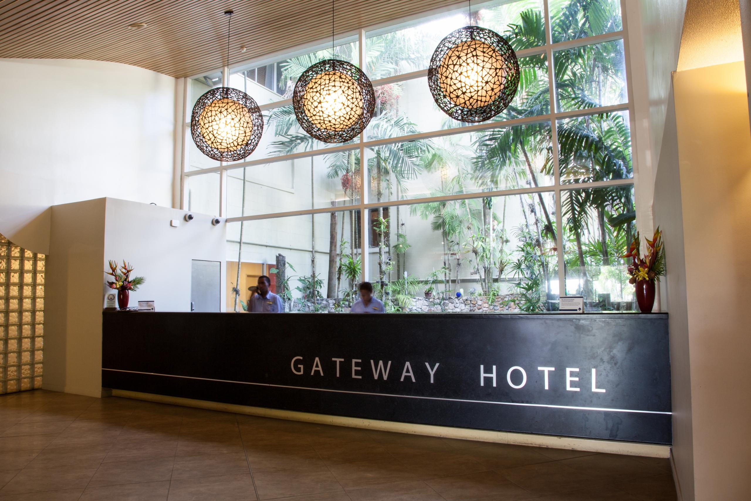 Gateway Hotel Reception