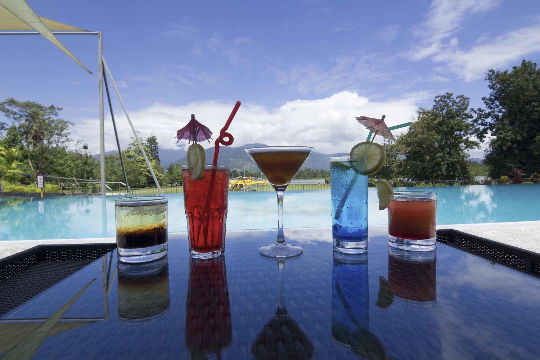 Crossroads Hotel Poolside Cocktails
