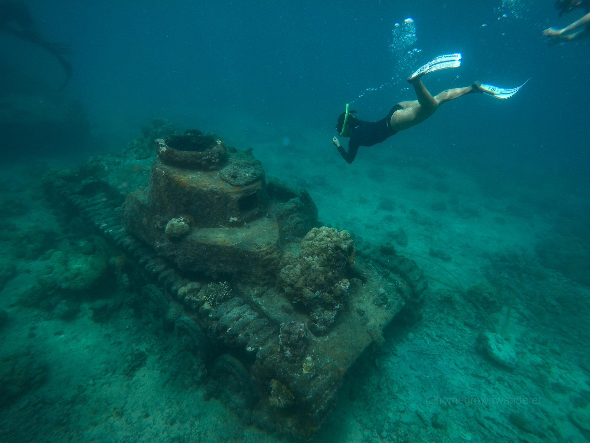 Japanese Tank - (C) Rabaul Dive Adventures